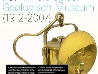 Poster mineralogisch-geologisch museum